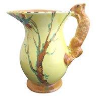 BURLEIGH Ware Vintage Art Deco Adorable SQUIRREL Tree Pitcher Jug Vase 4801