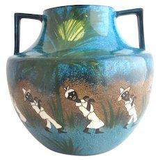 Popular Brand Vintage Delft Hand Painted Blue & White Ginger Jar Salt & Pepper Shakers Holland Pottery & China Art Pottery