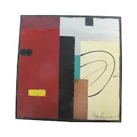 Thomas Anderson ELEMENT SERIES #8 Signed Mixed Media ABSTRACT Modern Art