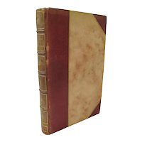 The TOUR of DOCTOR Syntax 5th ca1815 3/4 Leather w/Colored Illustrations