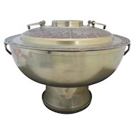 Large Brass CHINESE Animal ZODIAC Astrology Incense Burner BRAZIER
