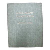 ANSEL ADAMS Complete Portfolio 3 YOSEMITE VALLEY 16 Original Gelatin Photographs