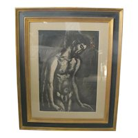 Georges ROUAULT French Miserere Plate 10 AQUATINT Limited Edition