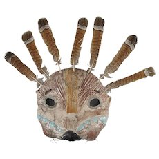 LILLIAN PITT Pacific NW Native American SEA OTTER Multi-Media Indian Mask