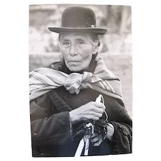 Vintage Black & White Photograph BOLIVIA Quechua WOMAN by Paul S Conklin