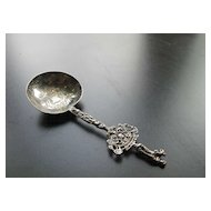 Silver Dutch Netherlands Apostle Engraved Spoon
