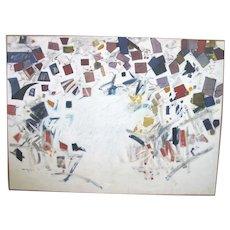 Oregon MYLA KELLER Large Abstract Geometric Painting The PHOENIX #2