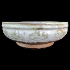 NW Pottery SIGRID GOULD Shoji Hamada Large Rustic Bowl