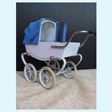 Thank you 'D'_FRENCH Dolls' Doll Buggy_Near Mint Condition!