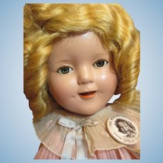 Thank you 'L'_Pristine Shirley Temple 1930's in box Composition Doll_they don't get better then this one!