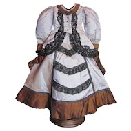 """French Fashion 2-pc doll outfit for 24"""" French or German Fashion Doll_FREE ship USA"""