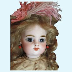 """FG French Bebe Scroll mark_Fabulous Doll_19"""" tall_Closed Mouth_"""