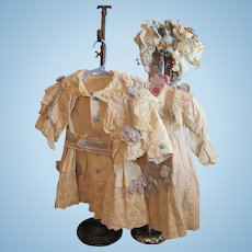 """Thank you 'M'_Lovely 3 piece outfit for 28""""-30"""" French Bebe or German Doll_"""