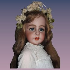 """Thank you 'L'_34"""" Simon & Halbig 939 Fabulously Large w/very long HH Wig_'Mesmerizing Doll' will take your breath away_Layaway is available..."""