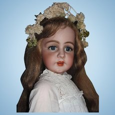 """LayAway for 'L'_34"""" Simon & Halbig 939 Fabulously Large w/very long HH Wig_'Mesmerizing Doll' will take your breath away_Layaway is available..."""