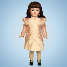 Thank you 'L'_2pc German walking suit for 19-20in Antique Doll_
