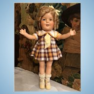 "Shirley Temple 1930's Ideal 13"" Doll all original"