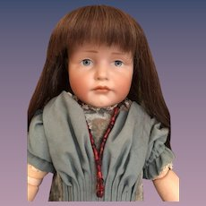 """Thank you 'R'_19"""" Pouty GRETCHEN  Kammer & Reinhardt Character Doll 'K&R 114'Germany_"""