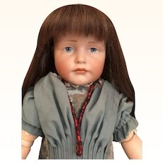 "Thank you 'R'_19"" Pouty GRETCHEN  Kammer & Reinhardt Character Doll 'K&R 114'Germany_"