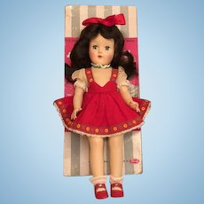 Pristine 1949 P-90 Toni Ideal Doll with Long Raven Black Hair_