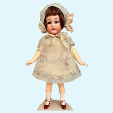 """Thank you 'N'_Antique Simon/Halbig German Flapper 6"""" Bisque Girl Doll in Aqua Outfit 1920's"""