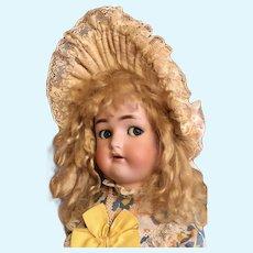 Thank you 'C'_Flirty eyes Dolly Face Simon & Halbig K*R 23in German Antique Cutie