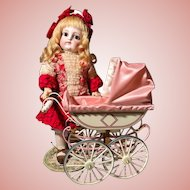 Vintage Doll Buggy by Marklin for UFDC _ doll toy accessory