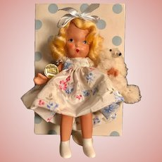 HOLD FOR 'M'_Pristine Pudgy Goldylocks and Baby Bear, Nancy Ann Story Book Doll complete everything inside Tag, Box no. 128