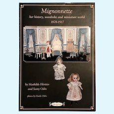 Book: Mignonette history, wardrobe and miniature world 1878-1917_FRENCH