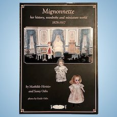 Book: Mignonette history, wardrobe and miniature world 1878-1917