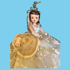 "Thank you 'K'_Winter Garden Party_RARE Vintage 21"" Cissy Madame Alexander Doll No.2282_Circa 1958"