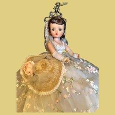 """Thank you 'K'_Winter Garden Party_RARE Vintage 21"""" Cissy Madame Alexander Doll No.2282_Circa 1958"""