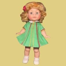 "Vintage 1964 MIB Madame Alexander Girl Doll MUFFIN 12"" Playtime Doll"