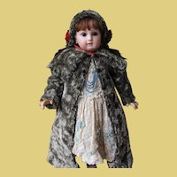 Antique doll Coat and Bonnet for German or French Bebe