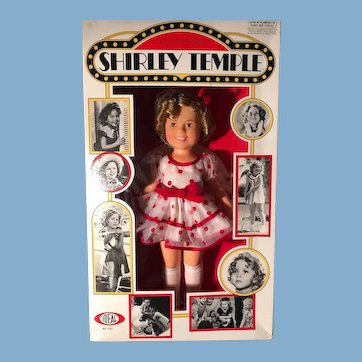 Shirley Temple 1973 Ideal doll Mint In Box