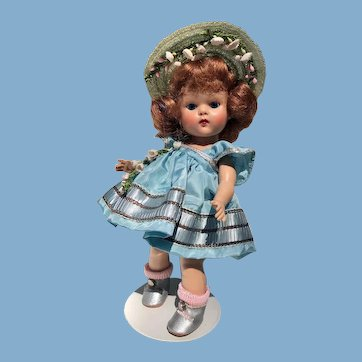 High Color Pristine Vogue Ginny Doll 1950's_Red Hair_FREE SHIP USA