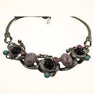 Selro Selini Rare Unsigned Dragon Necklace