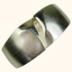 Iconic Bjorn Weckstrom Lapponia Finland Sterling 1969 Design Bracelet ~ Darina