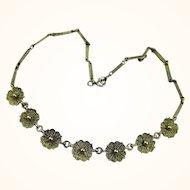 Superb Art Deco Theodor Fahrner Jugendstil Necklace ~ c1950s