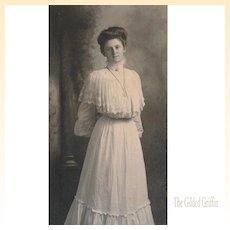 Antique Photograph: Rare Van De Grift Portrait Photograph