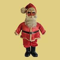 "Vintage Lg. 1930's/40's  17"" Santa Clause with Mohair Beard"