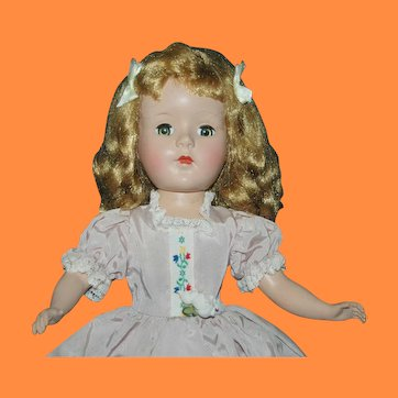 """14"""" All Original Hard Plastic Sweet Sue by American Character"""