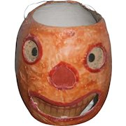 Early Halloween Orange JOL Pumpkin Lantern with Face Insert