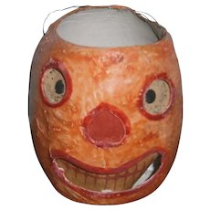 Early Halloween Orange JOL Pumpkin Lantern with Face Insert