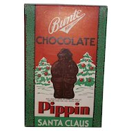 Bunte Christmas Chocolate Pippin Santa Claus Cardboard Candy Box