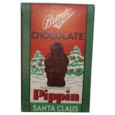 Bunte Christmas Chocolate Pippin Santa Claus Cardboard Candy Box