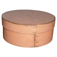 AAFA-Primitive-Wood-Pantry-Box-Peach-Light-Salmon-Putty-Paint