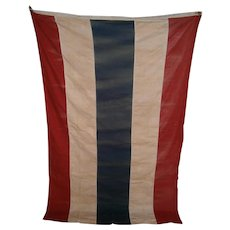 Vintage Patriotic Red, White, and Blue Flag or Banner Bunting