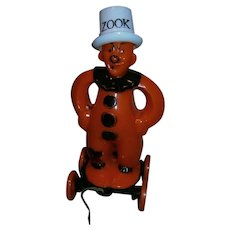 Rosbro Plastic Halloween ZOOK Candy Container in Wheels