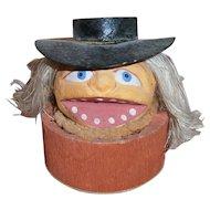 Halloween JOL Pumpkin Head Candy Container